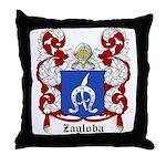 Zagloba Coat of Arms Throw Pillow