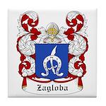 Zagloba Coat of Arms Tile Coaster