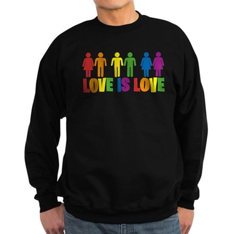Love is Love Sweatshirt (dark)