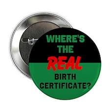 """Birth Certificate 2.25"""" Button"""