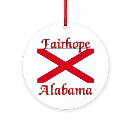 Fairhhope Alabama Ornament (Round)