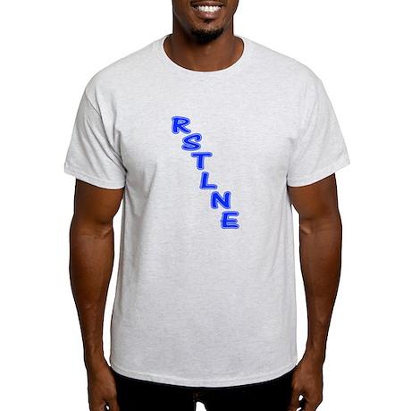 RSTLNE Diag Ash Grey T-Shirt
