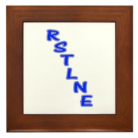 RSTLNE Diag Framed Tile