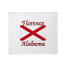 Florence Alabama Throw Blanket
