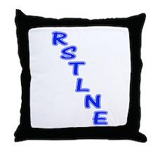 RSTLNE Diag Throw Pillow
