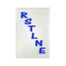 RSTLNE Diag Rectangle Magnet (10 pack)