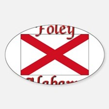 Foley Alabama Decal