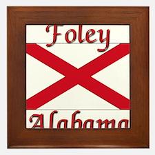 Foley Alabama Framed Tile