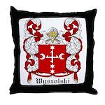 Wyszolski Coat of Arms Throw Pillow