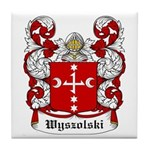 Wyszolski Coat of Arms Tile Coaster
