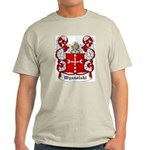 Wyszolski Coat of Arms Ash Grey T-Shirt