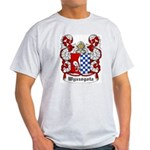Wyszogota Coat of Arms Ash Grey T-Shirt