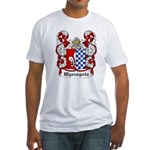 Wyszogota Coat of Arms Fitted T-Shirt