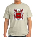 Wydra Coat of Arms Ash Grey T-Shirt
