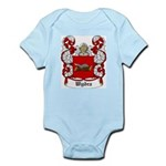 Wydra Coat of Arms Infant Creeper