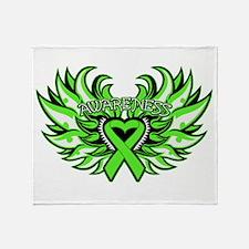 Non-Hodgkins Lymphoma Wings Throw Blanket