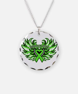 Non-Hodgkins Lymphoma Wings Necklace