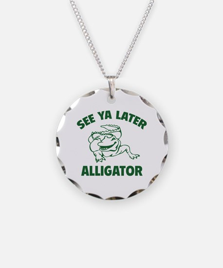 See Ya Later Alligator Necklace