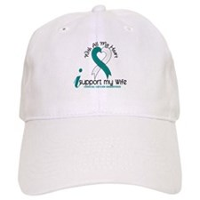 With All My Heart Cervical Cancer Hat