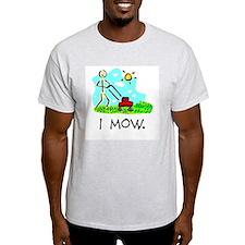 I Mow Mens Shirt