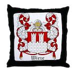 Wieze Coat of Arms Throw Pillow
