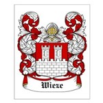 Wieze Coat of Arms Small Poster