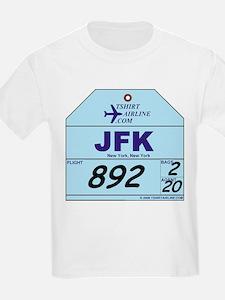 JFK - New York Airport Kids T-Shirt