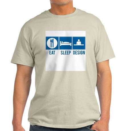 Eat Sleep Design Mens Shirt