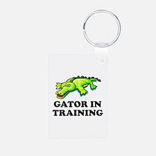 Gator In Training Keychains