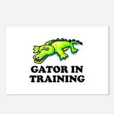 Gator In Training Postcards (Package of 8)