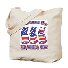 USA/Patriotic Kitty Cats Tote Bag
