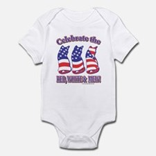 USA/Patriotic Kitty Cats Infant Bodysuit