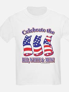 USA/Patriotic Kitty Cats T-Shirt