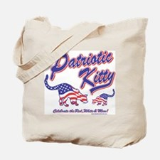 USA/Patriotic Kitty Cats Tote Bag