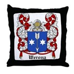 Werona Coat of Arms Throw Pillow