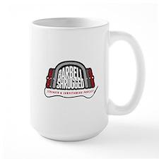 Barbell Shrugged Logo Mugs