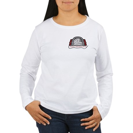 Women's Long Sleeve T-Shirt - Logo Front/Back
