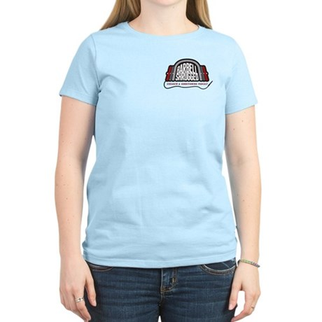 Women's Light T-Shirt - White, Pink or Blue