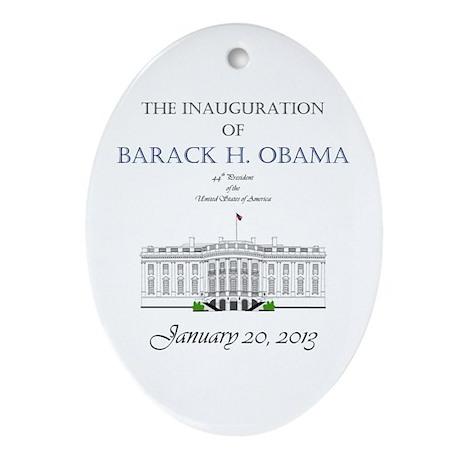 Inauguration of Barack H. Obama 2013 Ornament (Ova