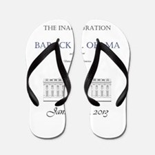 Inauguration of Barack H. Obama 2013 Flip Flops