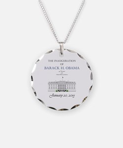 Inauguration of Barack H. Obama 2013 Necklace Circ