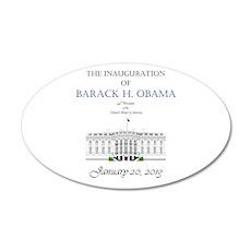 Inauguration of Barack H. Obama 2013 Wall Decal
