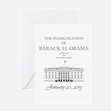 Inauguration of Barack H. Obama 2013 Greeting Card