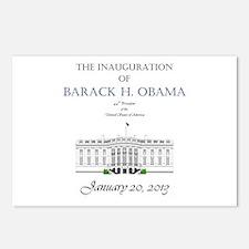 Inauguration of Barack H. Obama 2013 Postcards (Pa