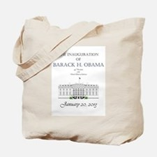 Inauguration of Barack H. Obama 2013 Tote Bag