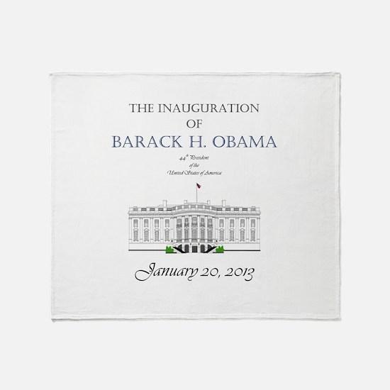 Inauguration of Barack H. Obama 2013 Stadium Blan
