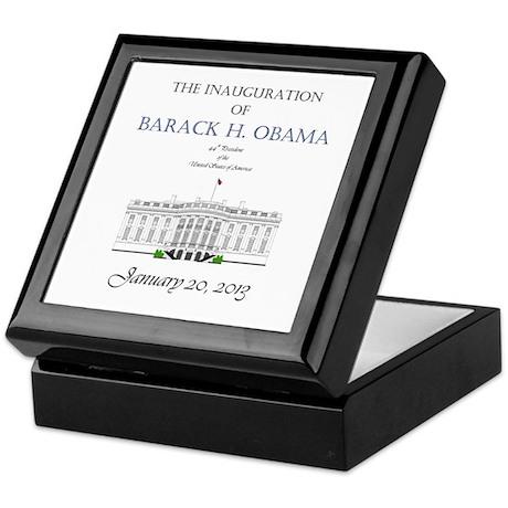 Inauguration of Barack H. Obama 2013 Keepsake Box