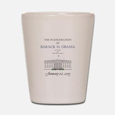 Inauguration of Barack H. Obama 2013 Shot Glass