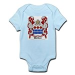 Weiher Coat of Arms Infant Creeper