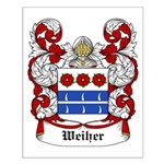 Weiher Coat of Arms Small Poster